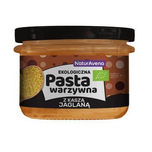 NATURAVENA 185g Pasta warzywna z kaszą jaglaną Bio