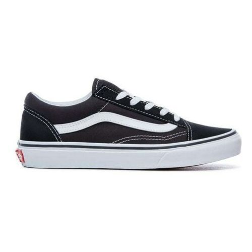 buty VANS - Old Skool Black/True White (6BT) rozmiar: 30.5