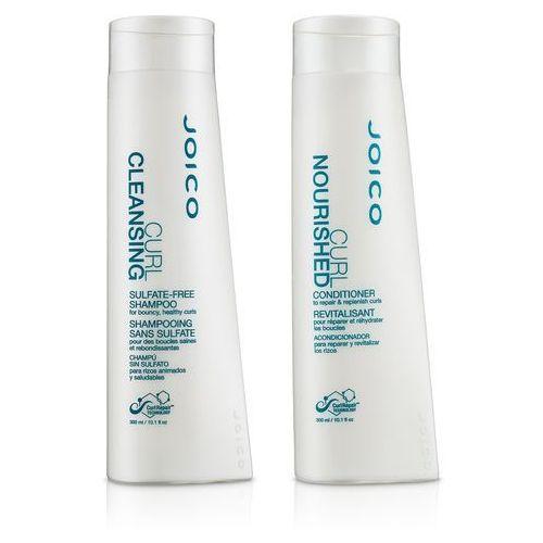 curl dreams zestaw do włosów kręconych | szampon 300ml + odżywka 300ml marki Joico