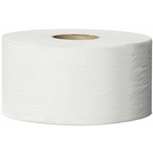 Tork Papier toaletowy w mini jumbo roli 12 szt. 1 warstwa 240 m biały (7322540472141)