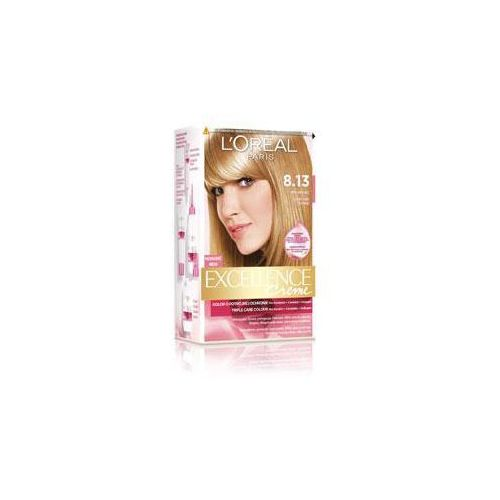 L'OREAL Excellence Creme - farba do włosów 8.13 Perłowy Beż - oferta [05c34a7cc765d650]