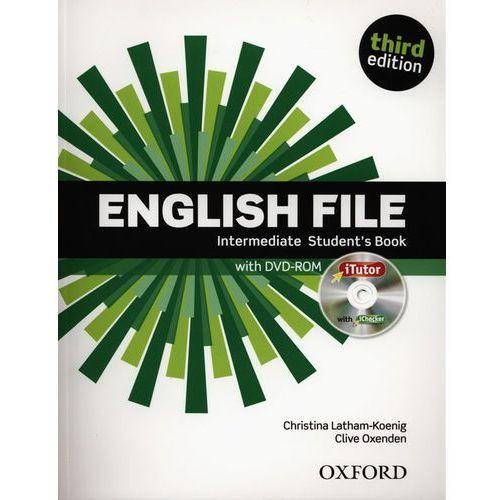 English File. Intermediate Student's Book. Third Edition z DVD-ROM (9780194597104)
