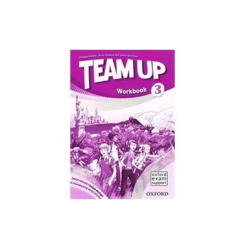 Team Up 3 SP Ćwiczenia + Online Workbook. Język angielski (2014)