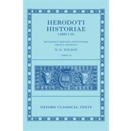 Herodotus: Histories, Books 5-9 (Herodoti Historiae: Libri V-IX)