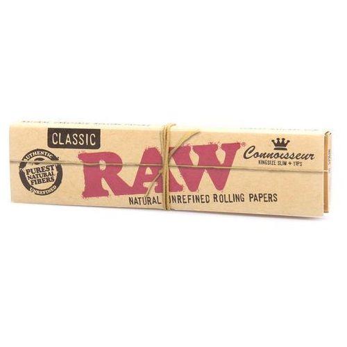 Bibułki RAW Classic KS Slim + Tips
