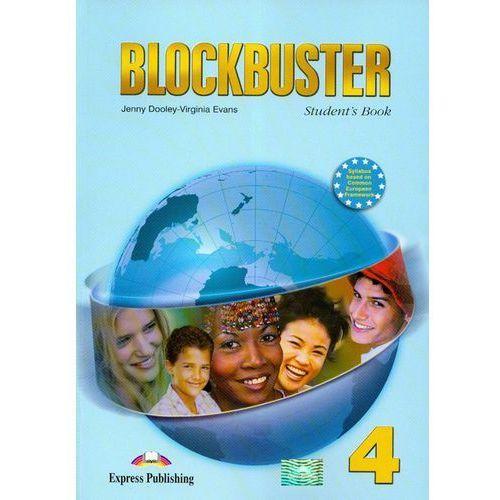 Blockbuster 4 Sudent`s book, oprawa miękka