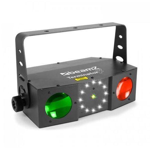 termnator iv efekt 3-w-1 moonflower, laser i stroboskop pilot marki Beamz