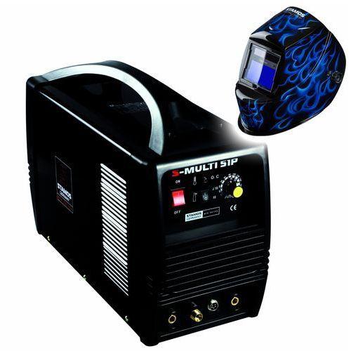 Urządzenie wielofunkcyjne s-multi 51p - 3w1 tig mma plazma + maska spawalnicza od producenta Stamos germany pro series