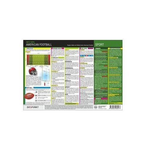 Info-Tafel American Football Schulze, Michael (9783864480584)