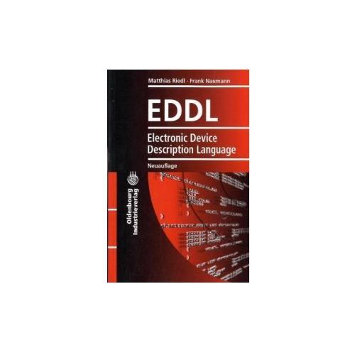EDDL Electronic Device Description Language, English edition w. eBook on CD-ROM (9783835632431)