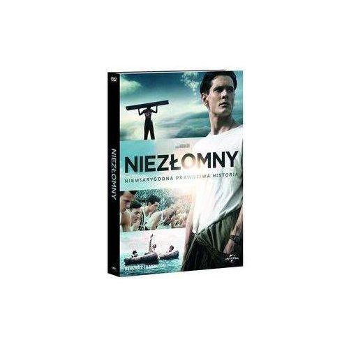 Niezłomny (DVD) - wydanie z książką - Angelina Jolie (9788364076237)
