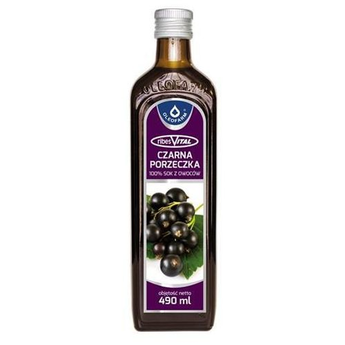 Sok 100% z owoców czarnej porzeczki 490ml