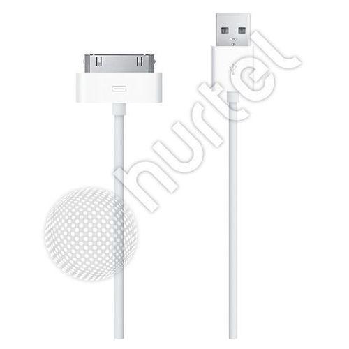 Kabel USB iPod iPhone 4 4G 4S iPad 2 3 30 Pin z kategorii Kable, taśmy i przejściówki
