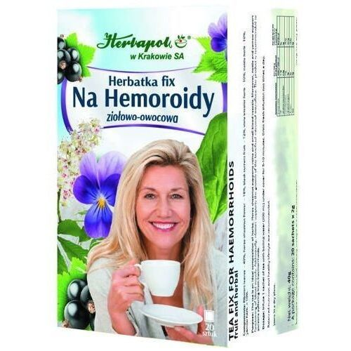 Herbatka fix na hemoroidy x 20 saszetek marki Herbapol kraków