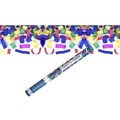 Party deco Tuba strzelająca - konfetti i serpentyny metaliczne - 60 cm - 1 szt.