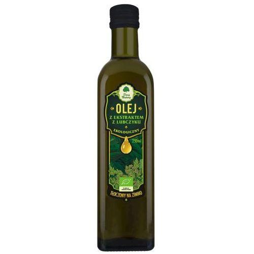 Dary natury - inne bio Olej z ekstraktem z lubczyku bio 250ml dary natury (5902581616234)
