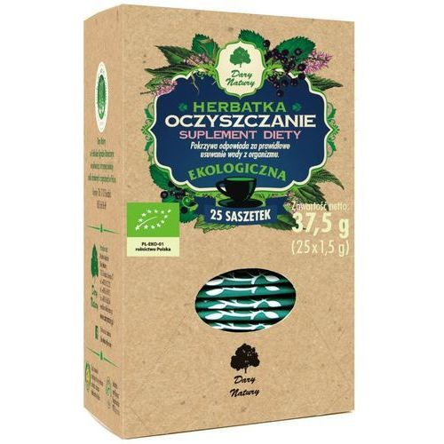 Dary natury - herbatki bio Herbatka oczyszczenie bio (25 x 1,5 g) - dary natury