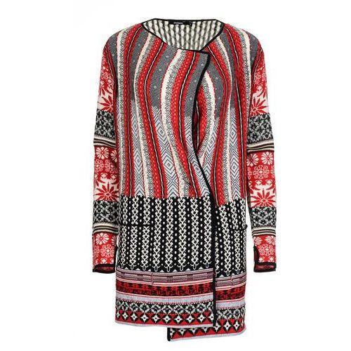 Desigual sweter damski call m czerwony