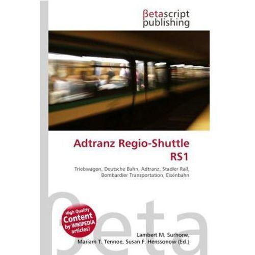 Adtranz Regio-Shuttle RS1 (9786131962066)