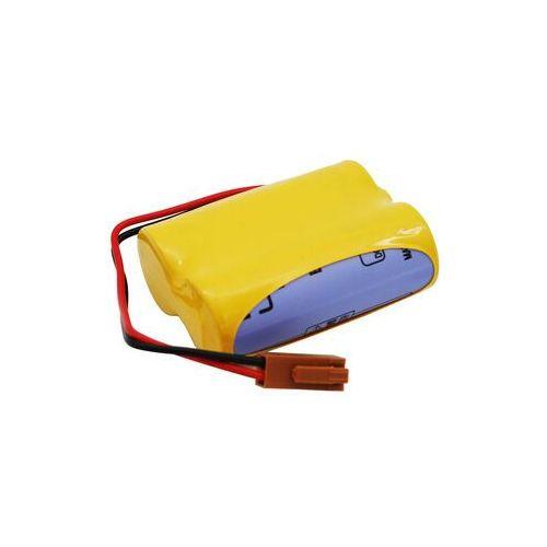 Zamiennik Bateria br-acf2p br-agcf2w a06b-0177-d106 a98l-0031-0011 6.0v z wtyczką fanuc