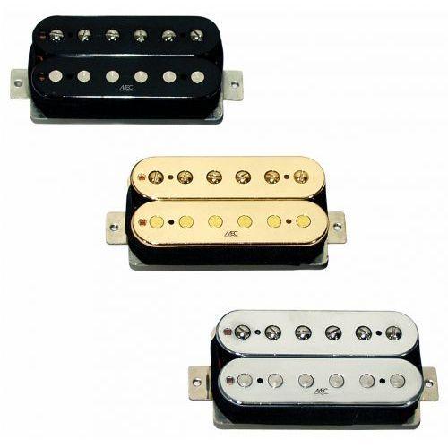 MEC Vintage Neck II Humbucker, Open Bobbin, przetwornik do gitary typu Humbucker do montażu przy gryfie, czarny