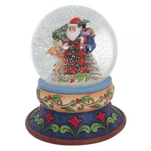 Kula śnieżna mikołaj Santa Waterball 4058796 Jim Shore figurka ozdoba świąteczna