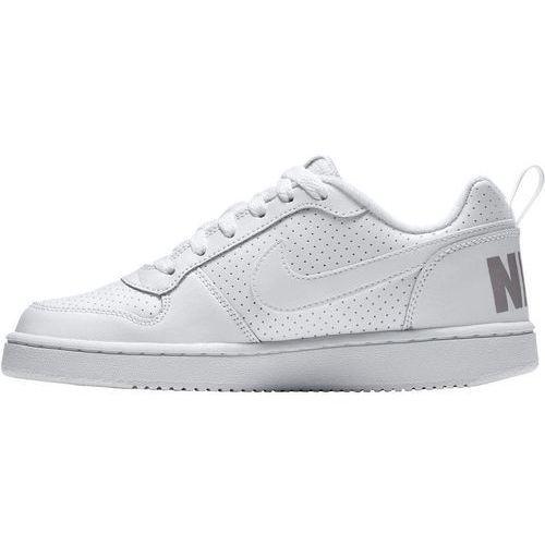 Nike Sportswear COURT BOROUGH Tenisówki i Trampki white, kolor biały