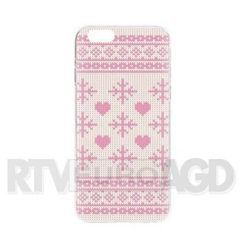 Flavr case ugly xmas sweater iphone 6/6s (różowy) (4029948052724)