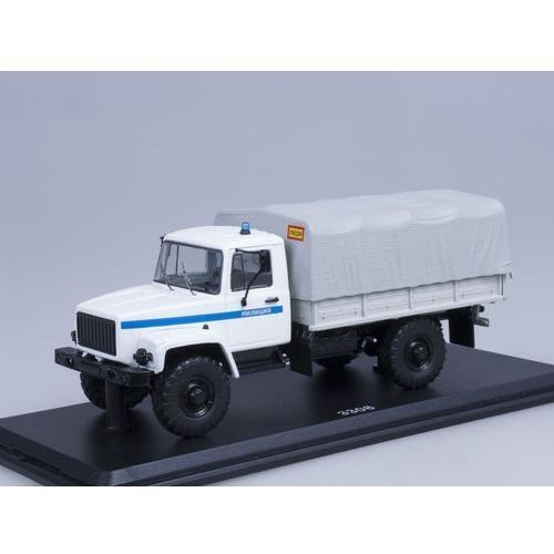 Ssm Gaz-3308 4×4 flatbed truck police - darmowa dostawa!!!