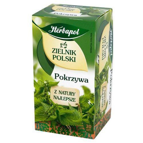 HERBAPOL 20x1,5g Zielnik Polski Pokrzywa Herbata ziołowa, 5900956002354