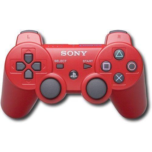 Sony Gamepad pad dualshock 3 ps3 czerwony
