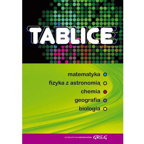 Tablice matematyka fizyka z astronomią chemia geografia biologia (504 str.)