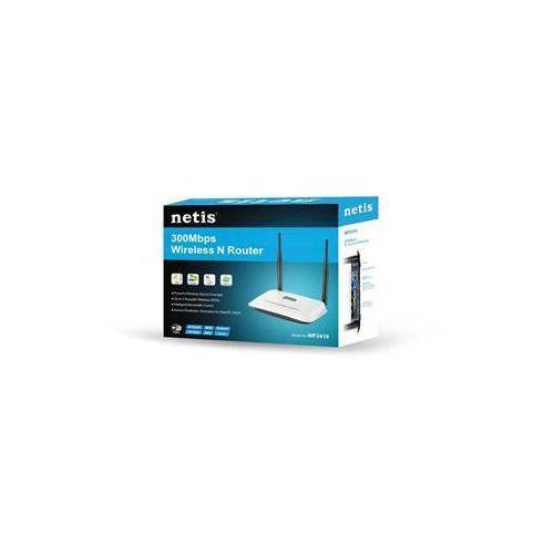 Router Netis DSL WIFI G/N300 + LAN x4, 2x Antena 5 dBi WF2419D/ DARMOWY TRANSPORT DLA ZAMÓWIEŃ OD 499 zł - produkt z kategorii- Routery i modemy ADSL