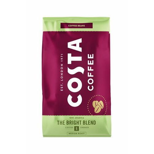 Costa coffee Kawa ziarnista bright blend 1000 g (5012547001629)
