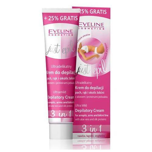 EVELINE Just Epil, krem do depilacji pach, rąk i okolic bikini 3w1, 125ml
