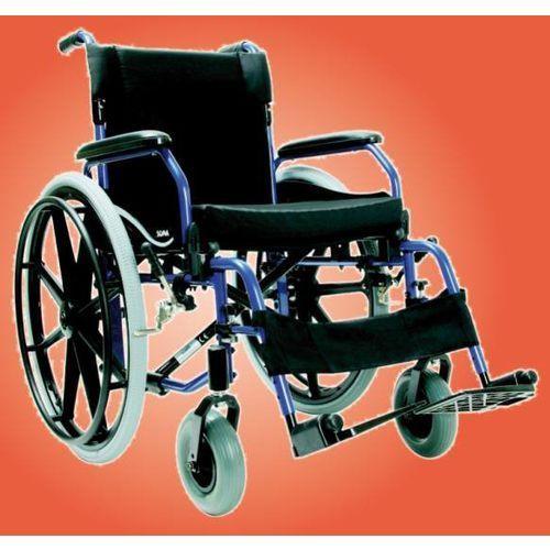 Wózek inwalidzki, aluminiowy soma sm-852, marki Antar