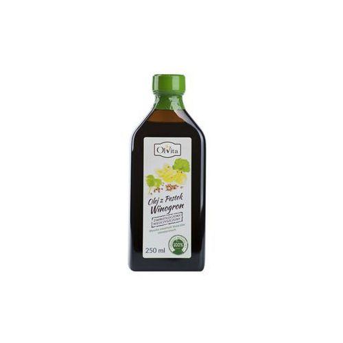 Olej winogronowy zimnotłoczony 250ml marki Olvita