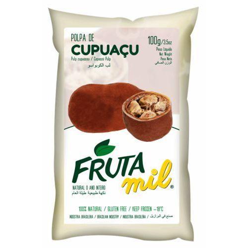 Cupuacu miąższ (puree owocowe, pulpa, sok z miąższem) bez cukru marki Frutamil comércio de frutas e sucos ltda