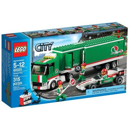 Lego City Ciezarowka ekipy wyscigowej 60025 z kategorii: klocki dla dzieci