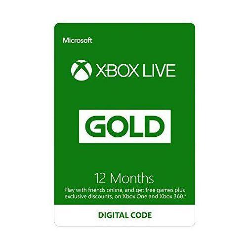 Microsoft Xbox Live Gold - 12 miesięcy (S4T-00019) (2000011467197)