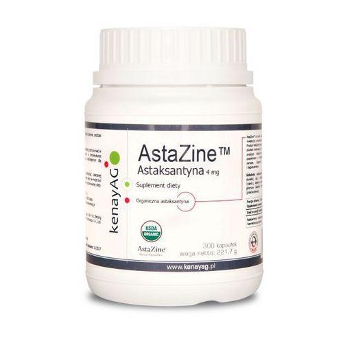 AstaZine Astaksantyna 4 mg (300 kapsułek) - suplement diety