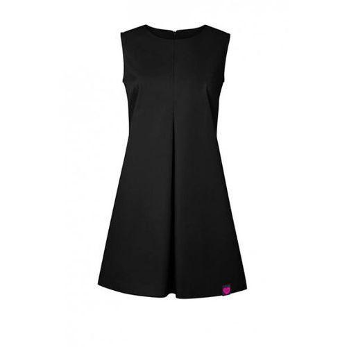 Sukienka Kosmetyczna Beauty Czarna (odzież medyczna)