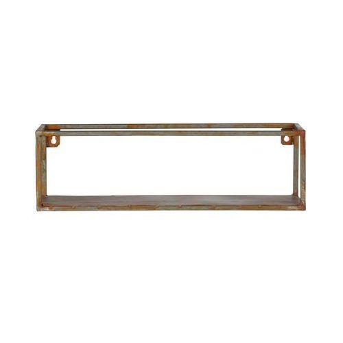 półka wisząca welldone rozmiar l metalowa rdzawa 800741-r marki Be pure