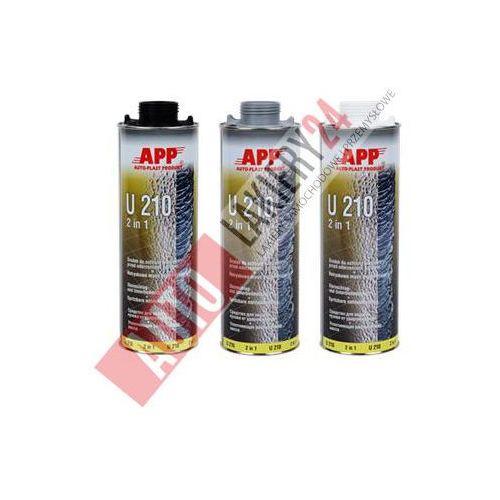 APP Preparat do ochrony karoserii przed uderzeniami kamieni + masa natryskowa U210 1L biały, app z Autolakiery24