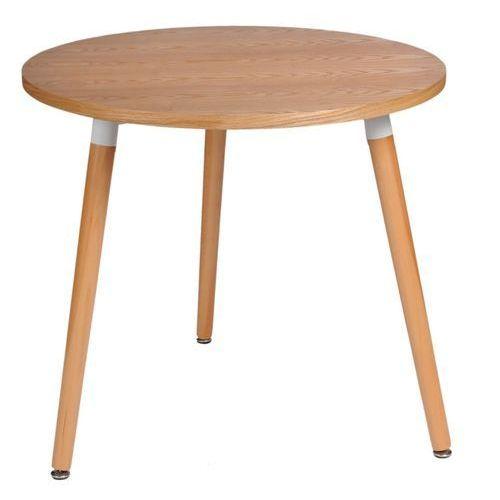 Stół Copine 80 z blatem drewnianym