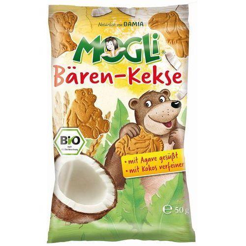 Ciasteczka kokosowe bio 50 g – mogli marki Mogli (moothie owocowe, batony, napoje)
