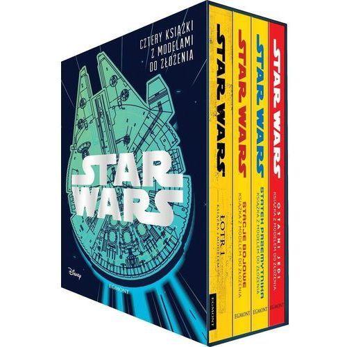 Star Wars Cztery książki z modelami do złożenia - Praca zbiorowa, oprawa twarda