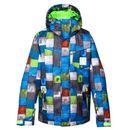 Produkt z kategorii- kurtki dla dzieci - Kurtka snowboardowa Quiksilver Mission Printed 024 bnl1 brilliant blue 2014/15 kids