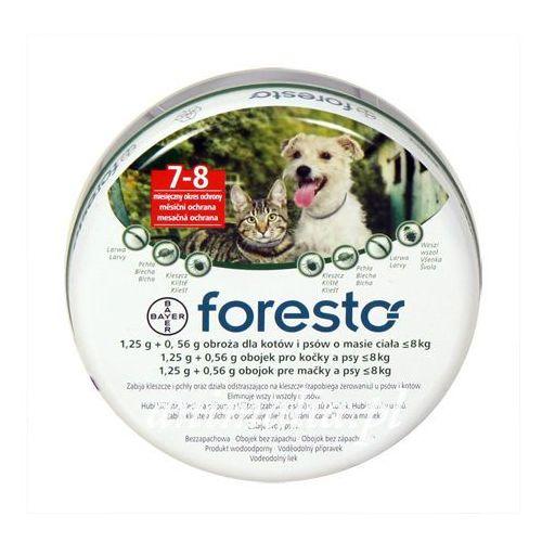 BAYER Foresto obroża przeciw pchłom i kleszczom dla psów i kotów 38cm