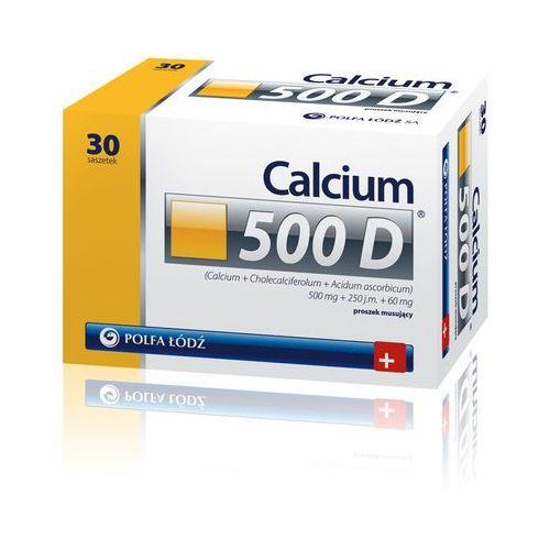 Calcium 500D, produkt z kategorii- Leki na osteoporozę